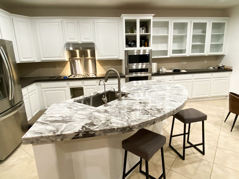 Granite countertops in North Los Vegas from GoPro Interiors