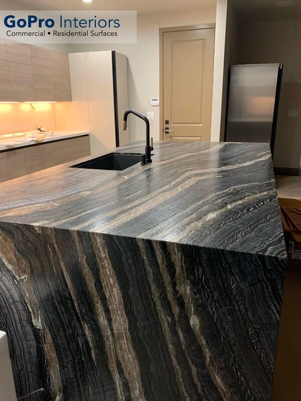 Stone countertops in Las Vegas, NV from GoPro Interiors