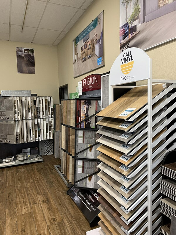 Top flooring brands available at Perry's Complete Floor on Seaboard Ct. in Upland