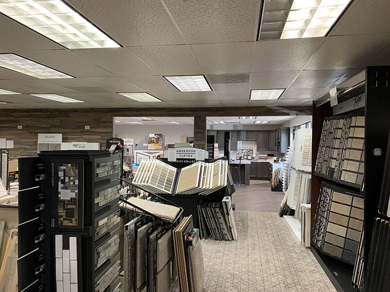 Carpet options available at Perry's Complete Floor on Mountain Ave. in Upland