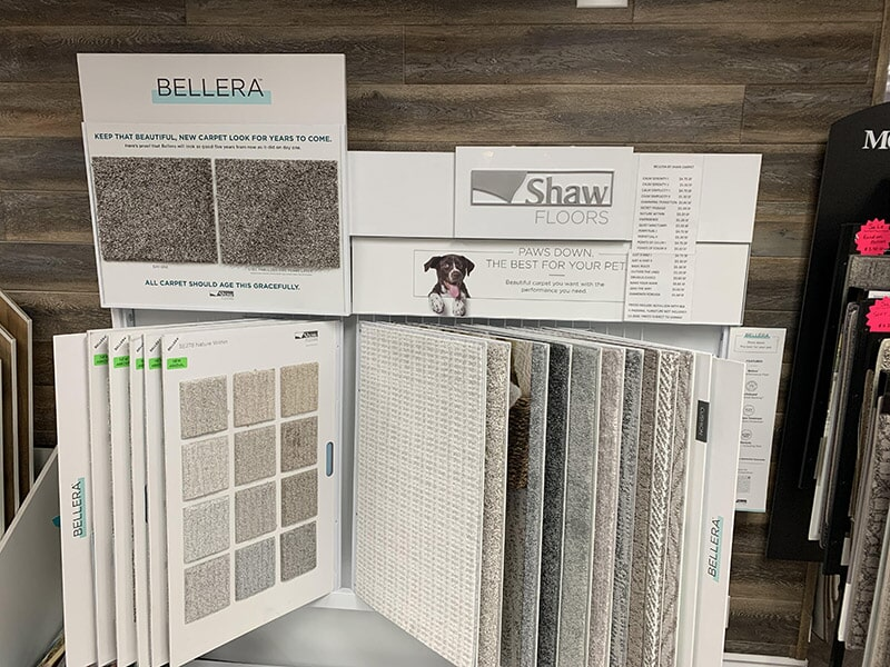 Shaw carpet available at Perry's Complete Floor on Mountain Ave. in Upland