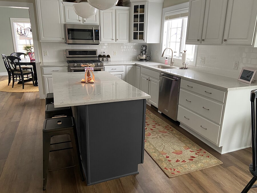Kitchen remodel in Madison, WI from Majestic Floors and More LLC - After