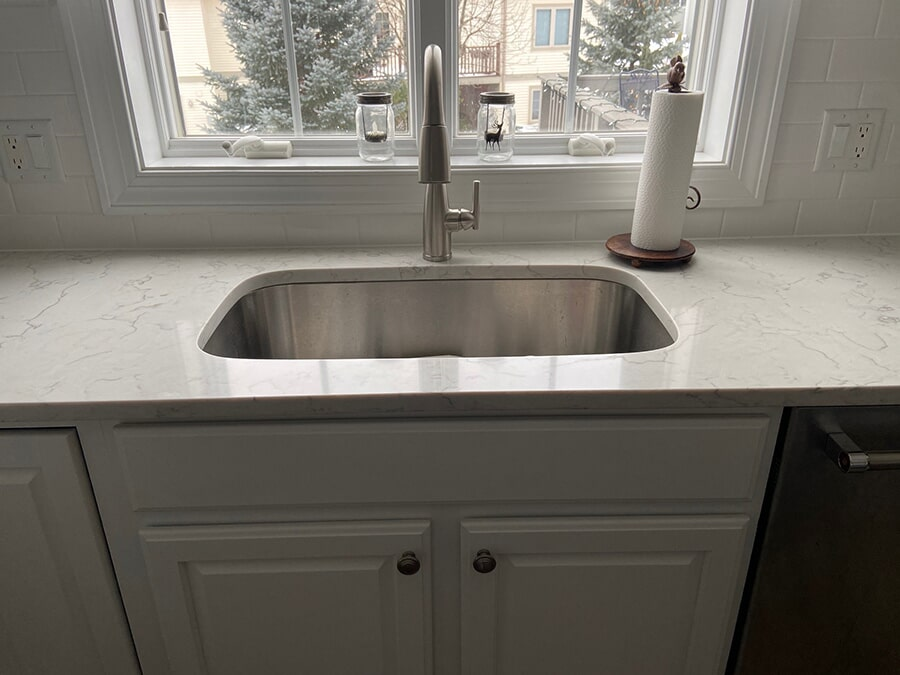 Kitchen remodel countertops in Middleton, WI from Majestic Floors and More LLC- After2
