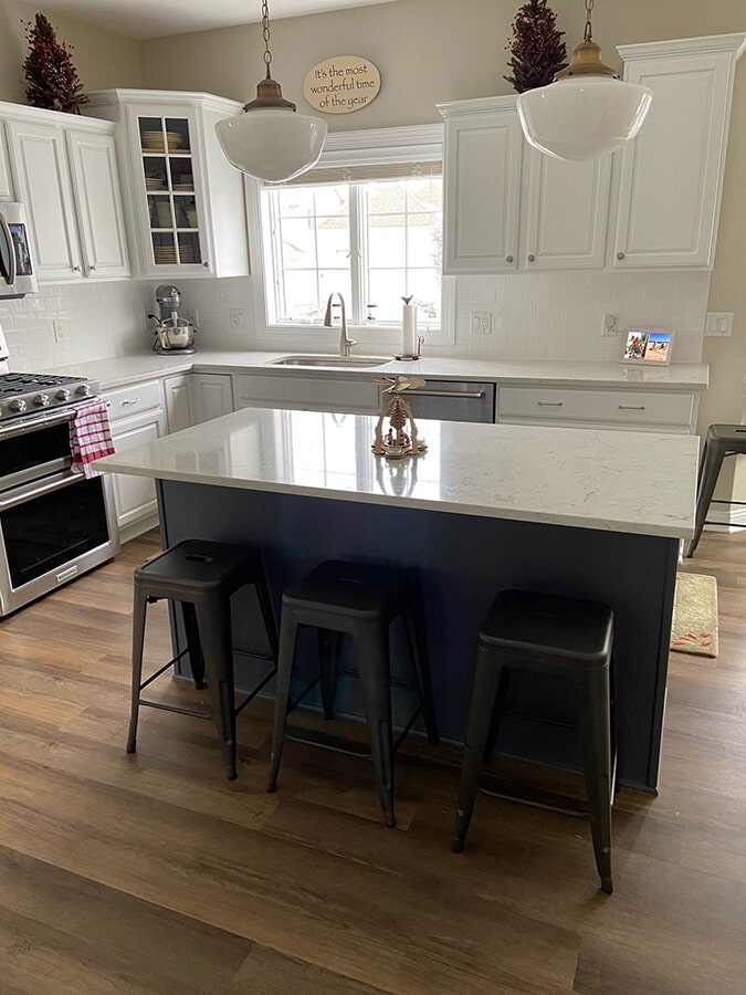 Kitchen remodel in Sun Prairie, WI from Majestic Floors and More LLC - After3