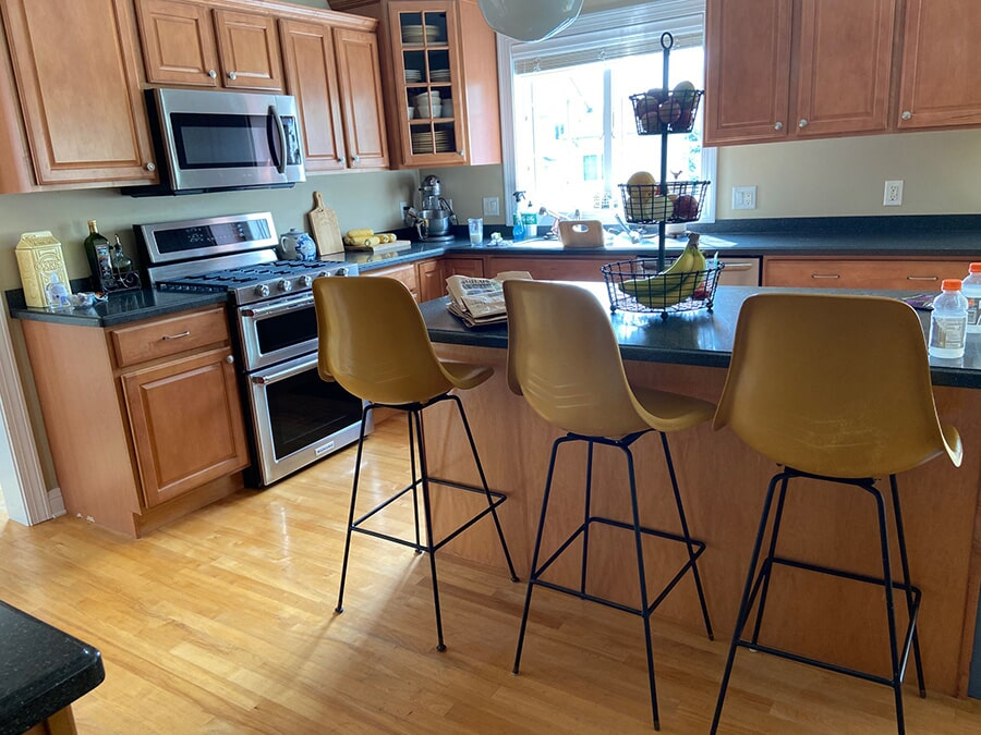 Kitchen remodel in Waunakee, WI from Majestic Floors and More LLC - Before