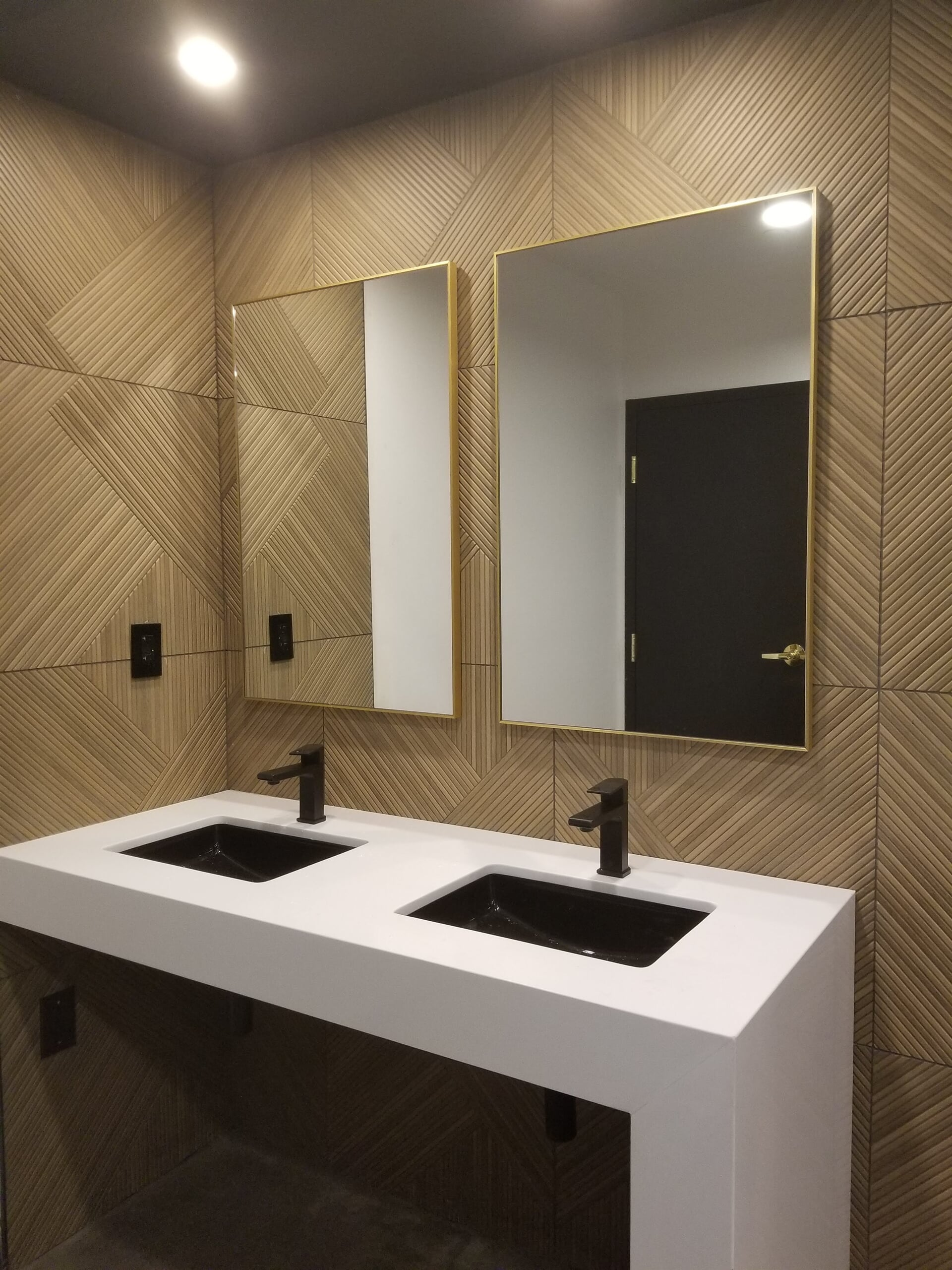 Commercial bathroom remodel in Norris Square, PA from Philadelphia Flooring Solutions