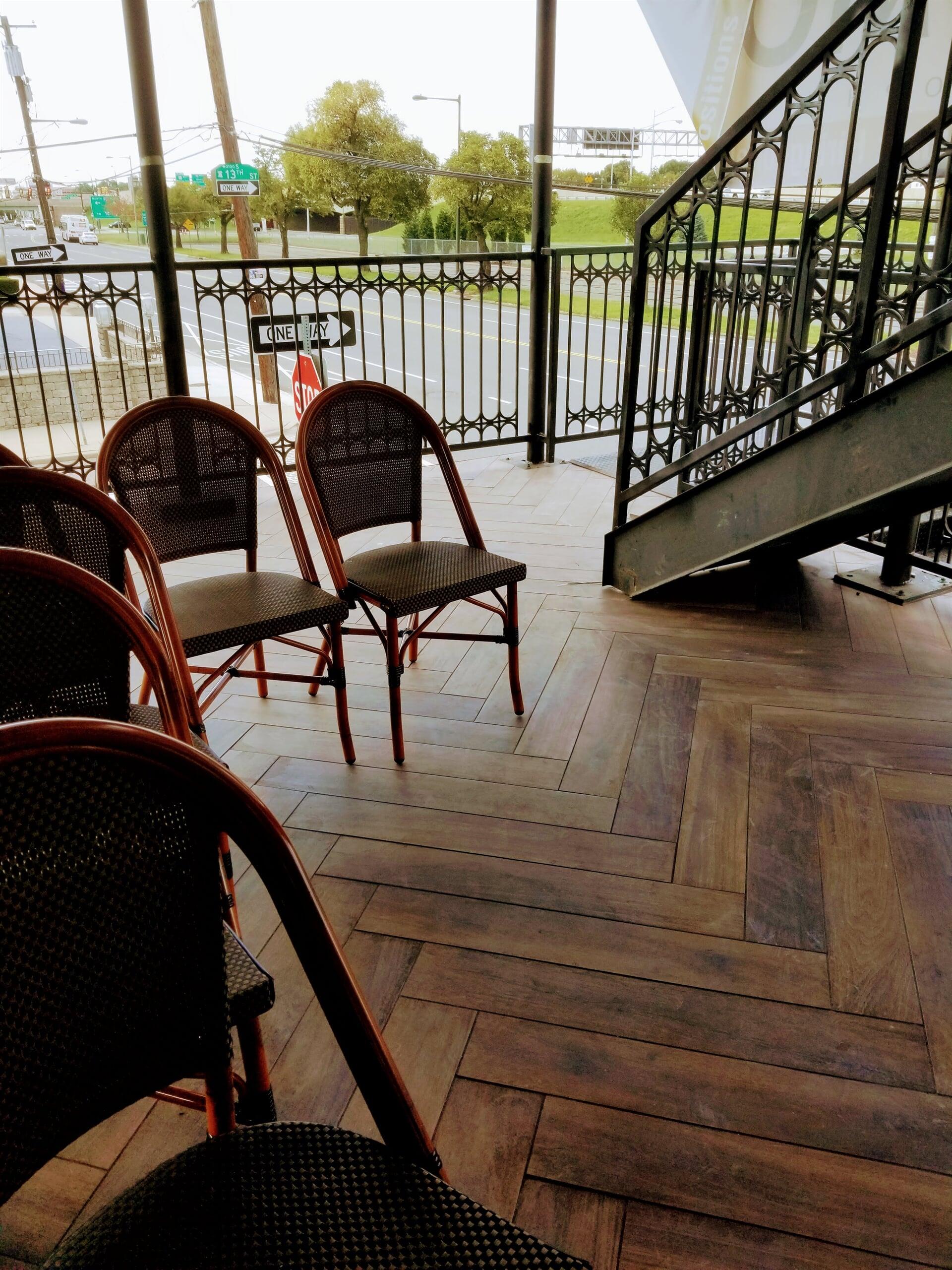Herringbone flooring in Yorktown, PA from Philadelphia Flooring Solutions