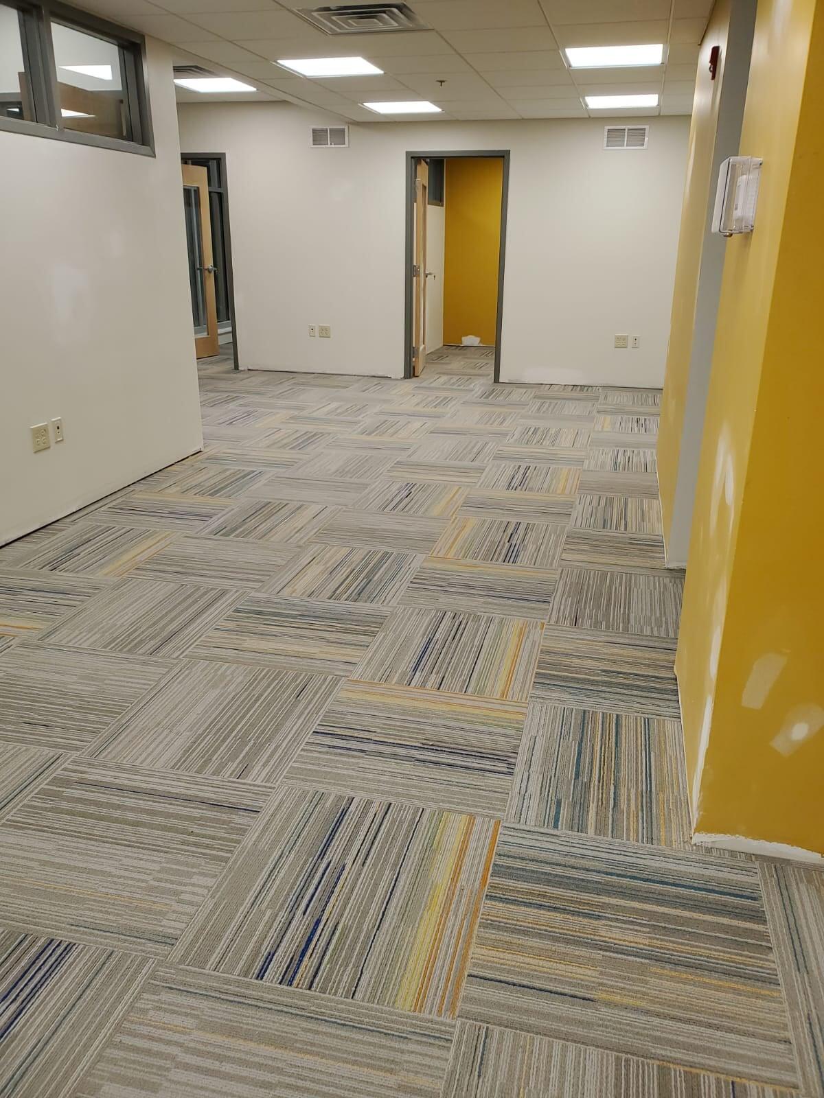 Carpet tile installation in Norris Square, PA from Philadelphia Flooring Solutions