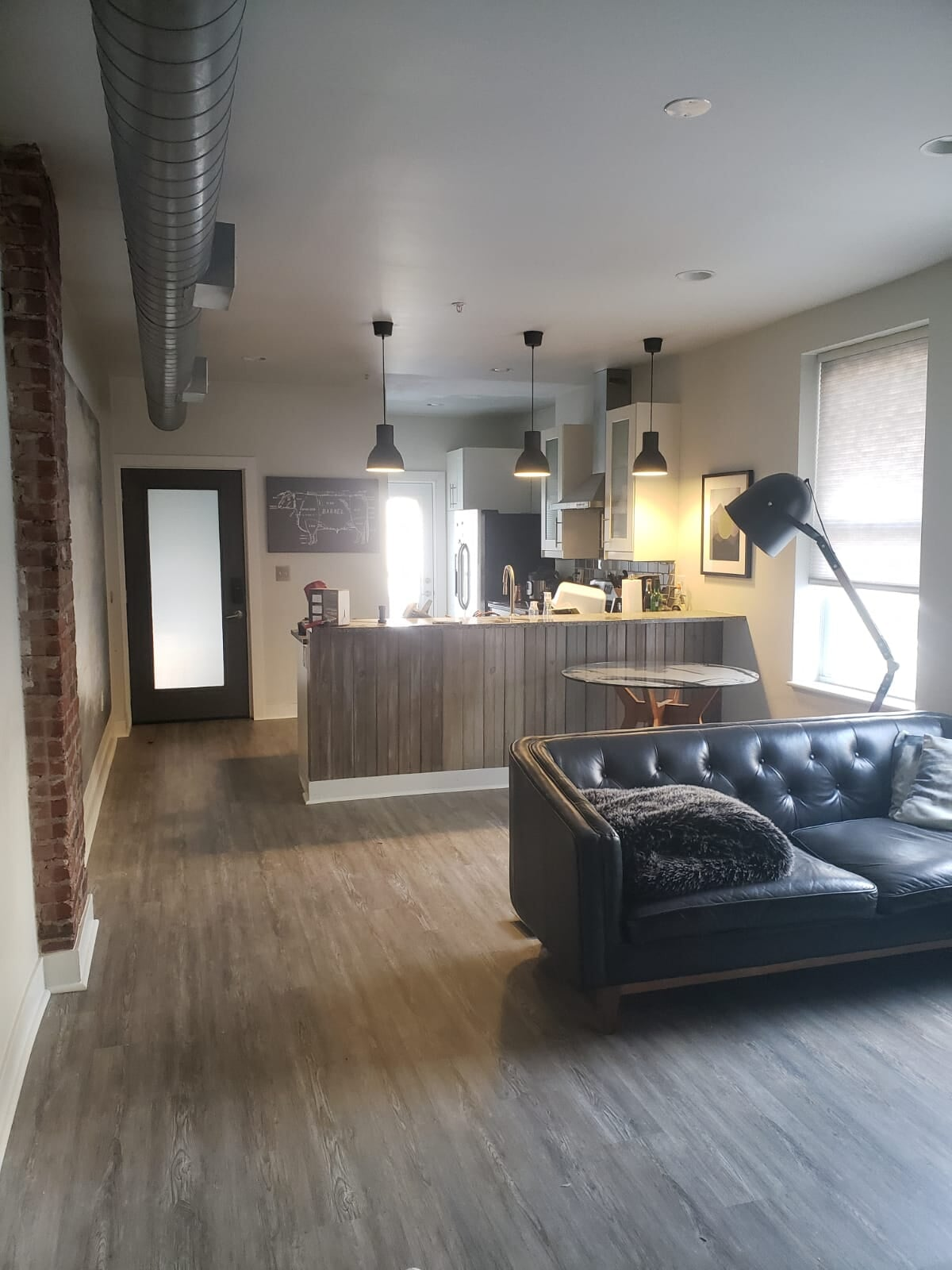 Modern living space in Poplar, PA from Philadelphia Flooring Solutions