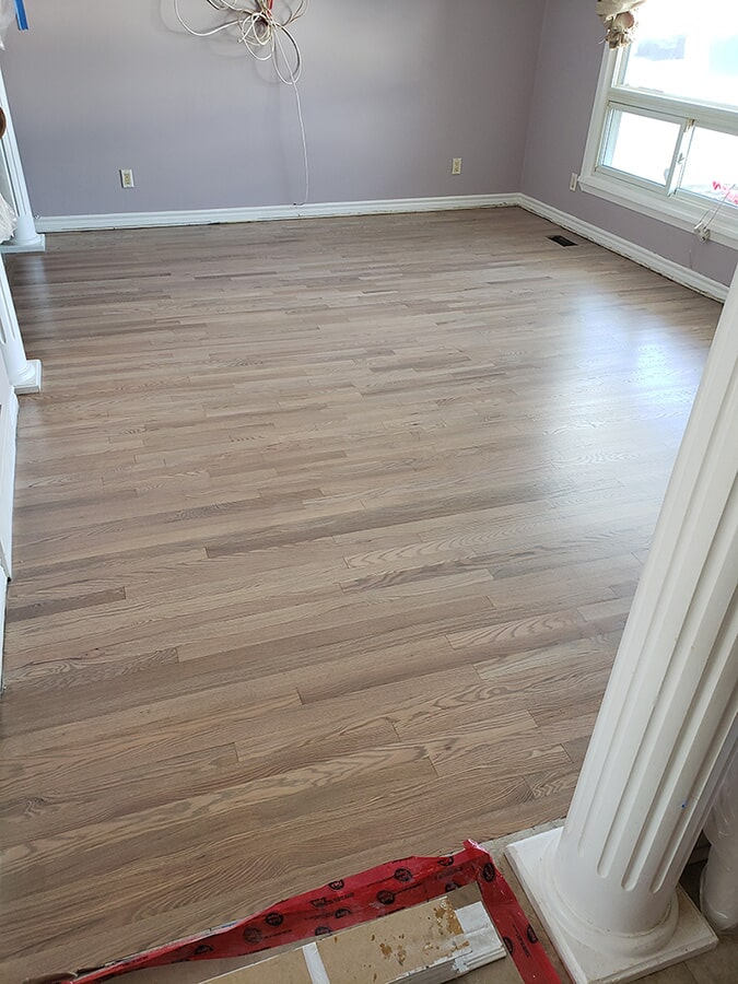 Flooring installation from Advantage Flooring