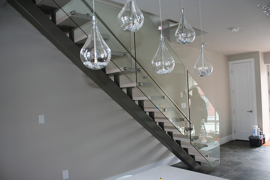 Stairs and railing installation in Ottawa, ON from Advantage Flooring