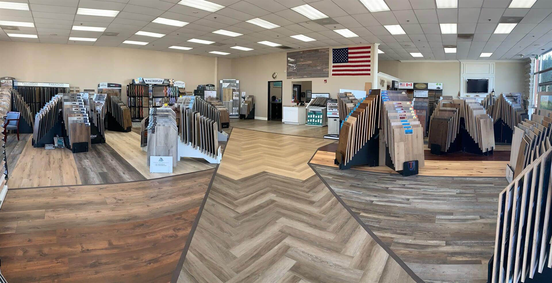 Hardwood Floors Outlet showroom near Wildomar, CA