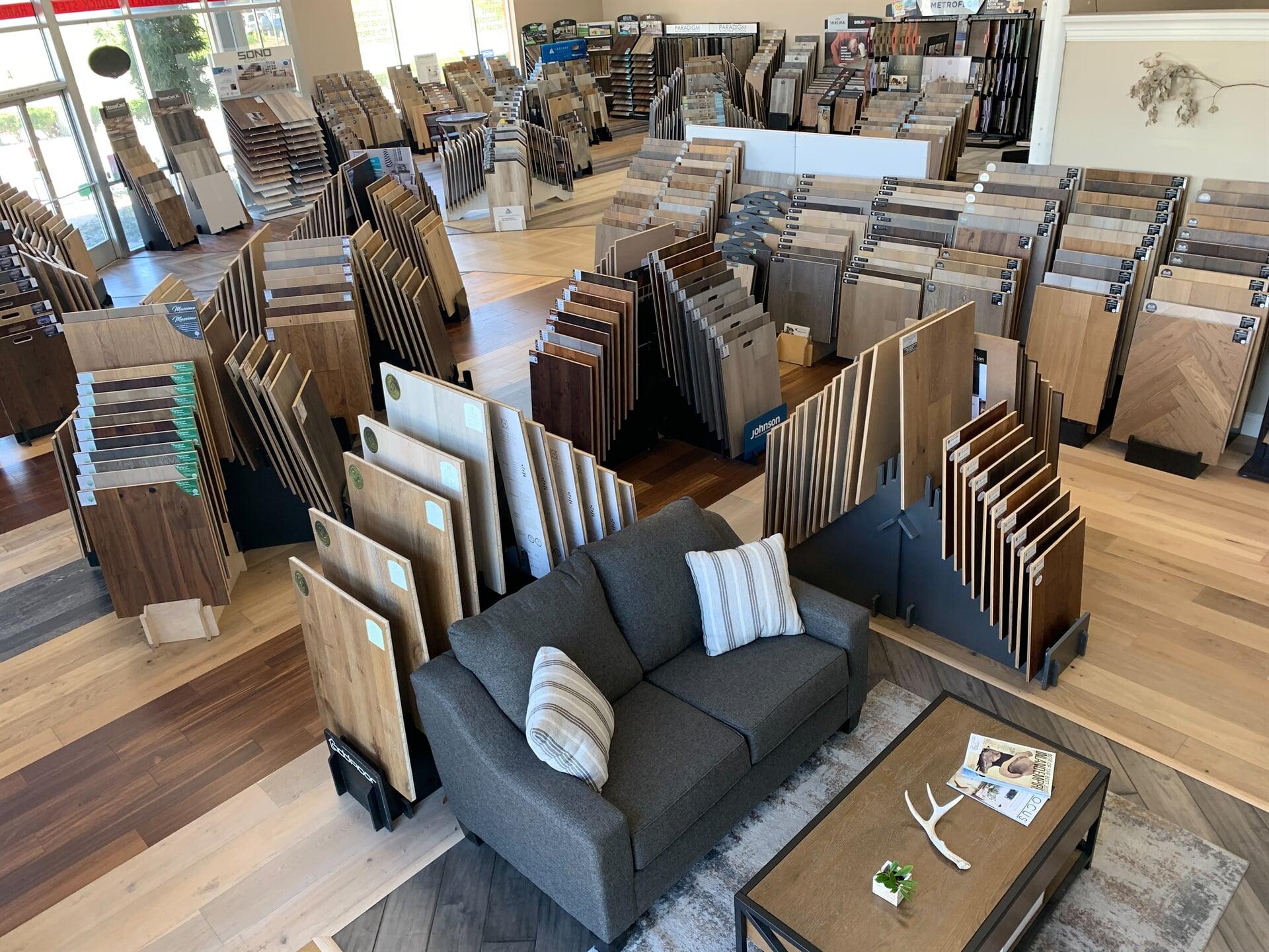Hardwood Floors Outlet showroom near Fallbrook, CA