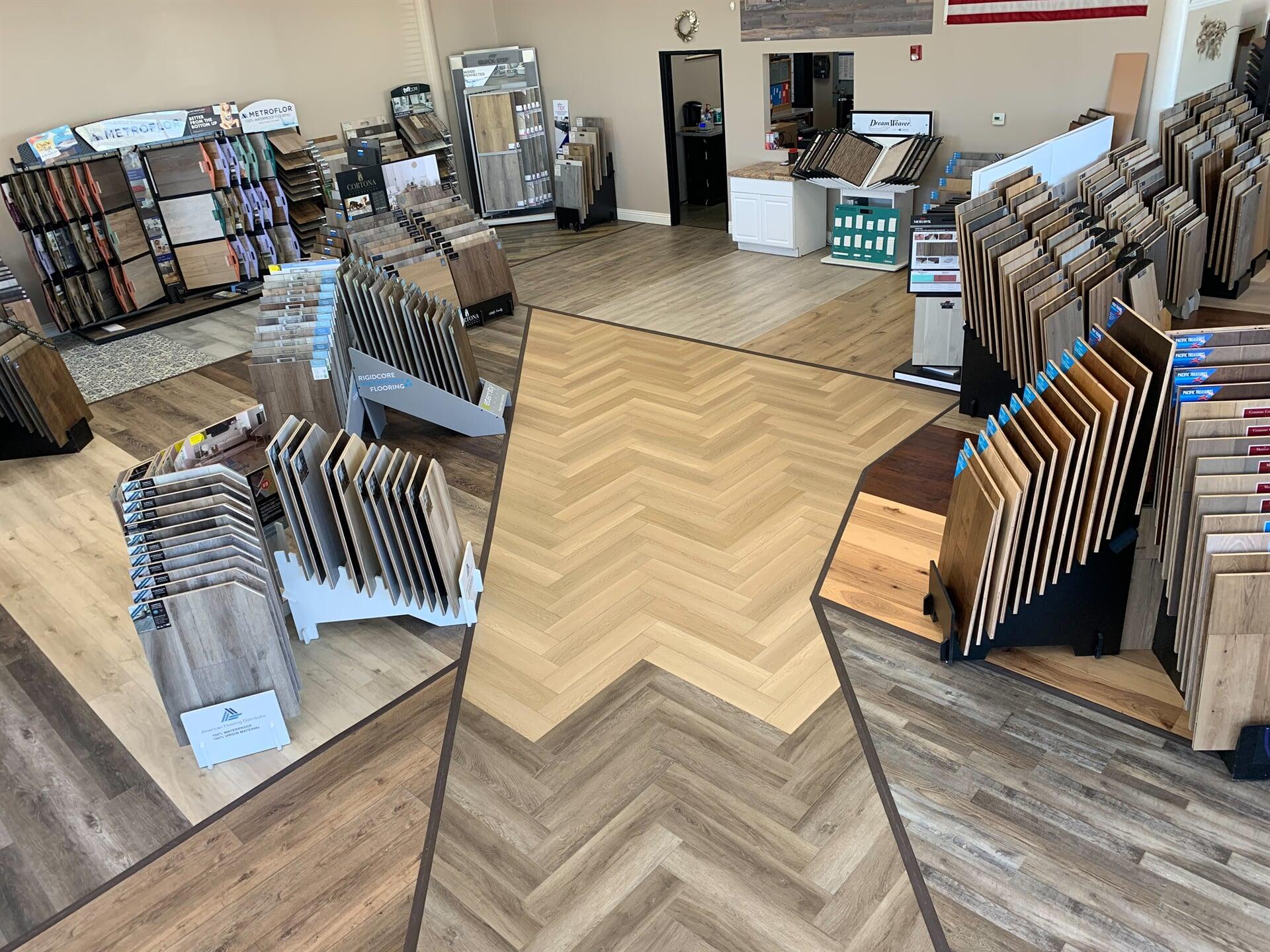 Hardwood Floors Outlet showroom near Temecula, CA