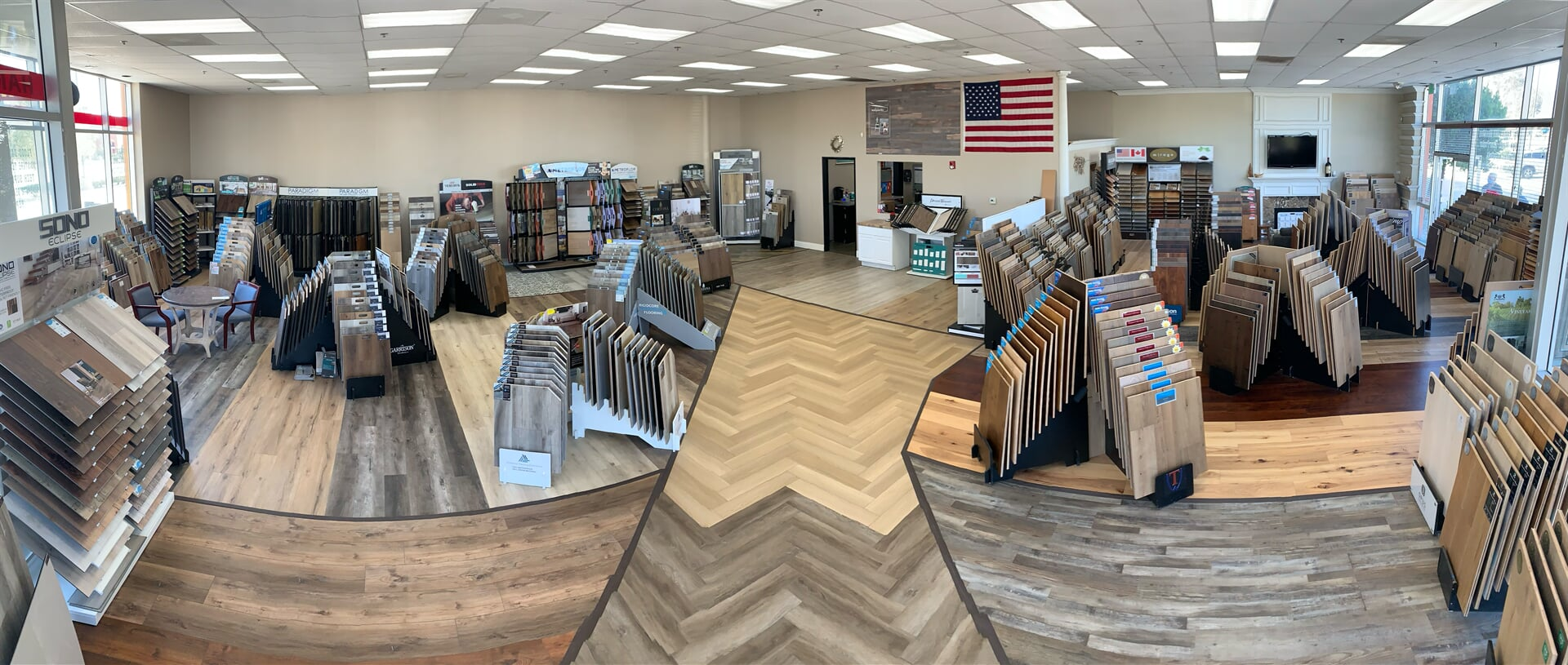 Hardwood Floors Outlet showroom near Murrieta, CA
