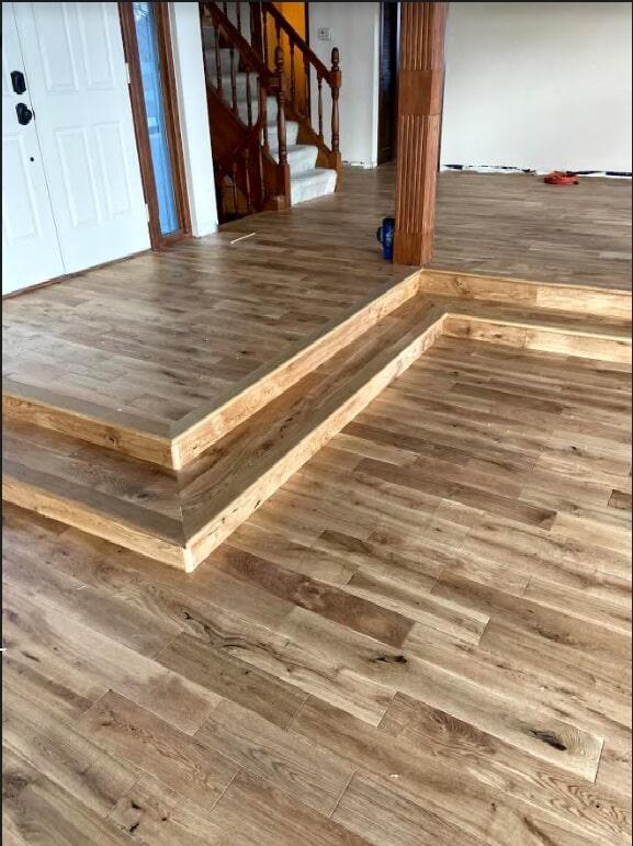 Wood floor example 1