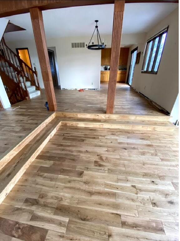 Wood floor example 2