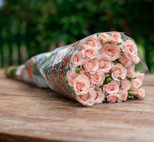 Embalagens com Flexografia para flores