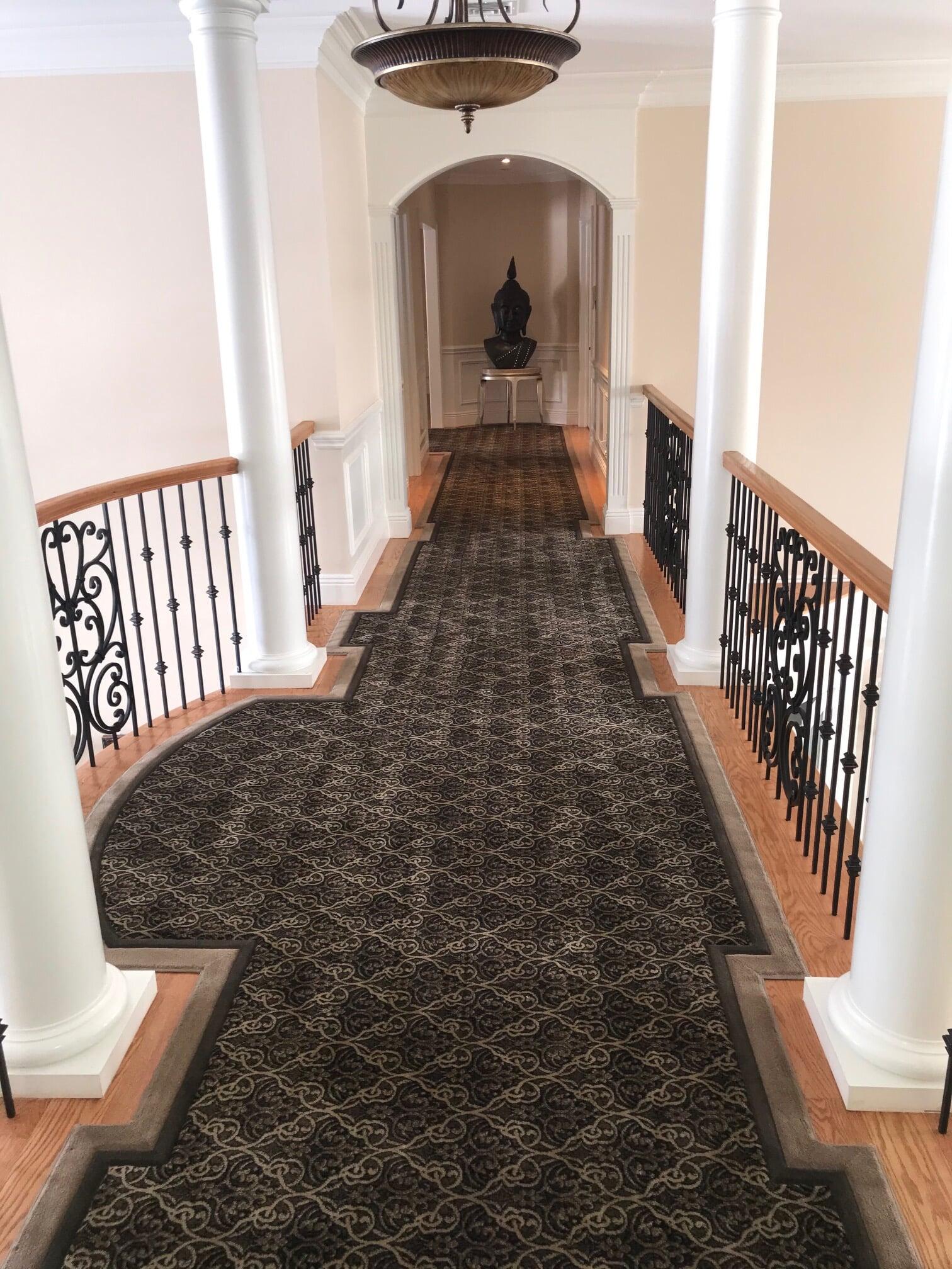 Custom hallway runner in Paramus, NJ from G. Fried Flooring & Design