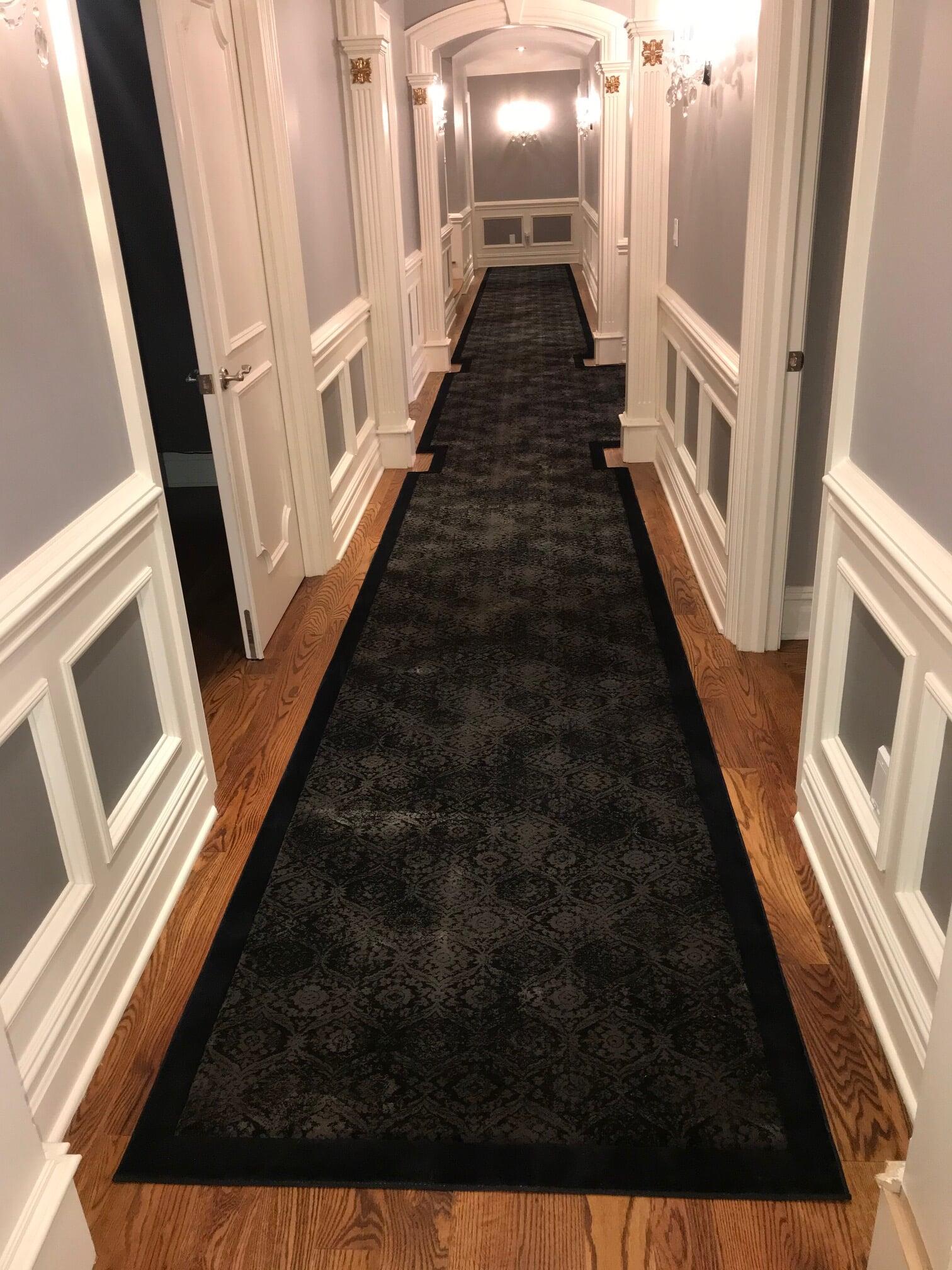 Custom runner in Paramus, NJ from G. Fried Flooring & Design