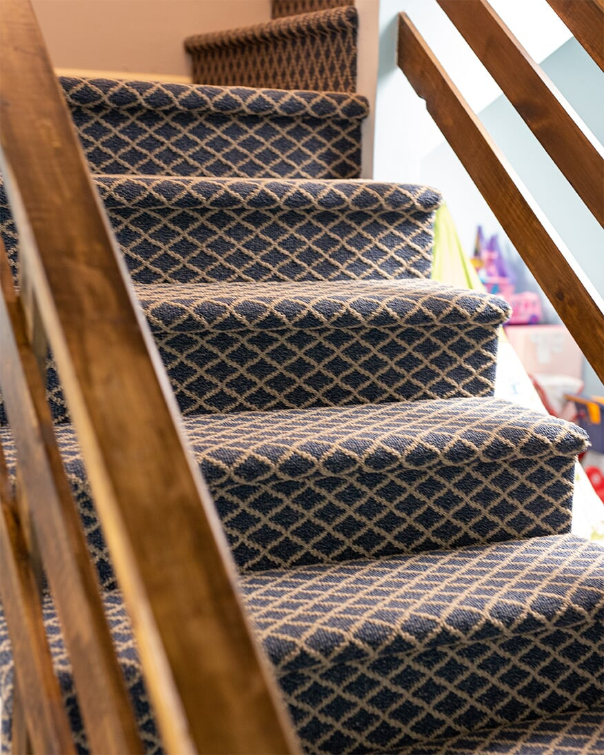 Carpet stairs in Reading, PA from Nolt's Floor Covering, Inc.