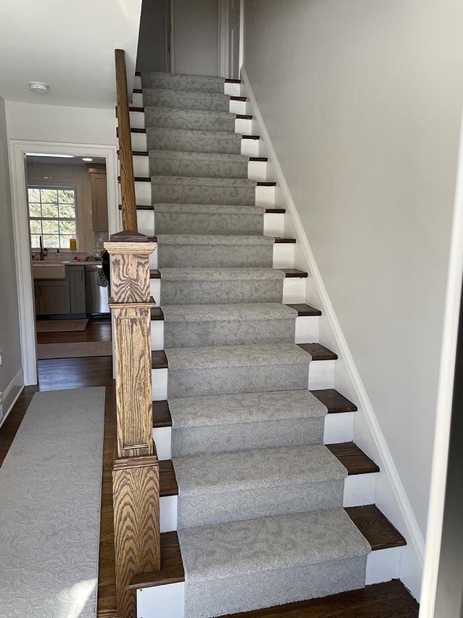 Stair runner from Olden Carpet and Flooring in Langhorne, PA