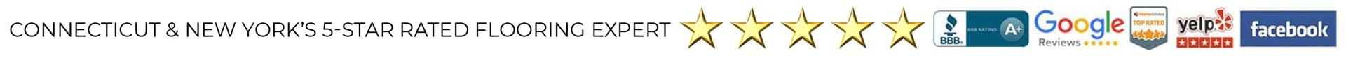 All Hardwood Floors is Connecticut & New York's 5-star rated flooring expert!