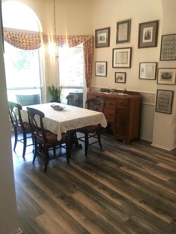 laminate dining room