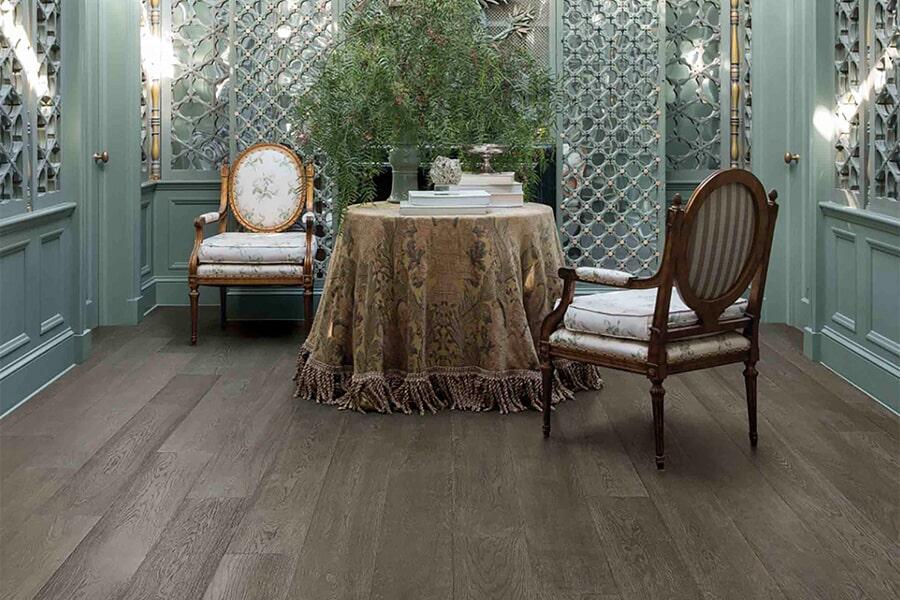 Wood floor installation in El Dorado Hills, CA from Central Valley Floor Design