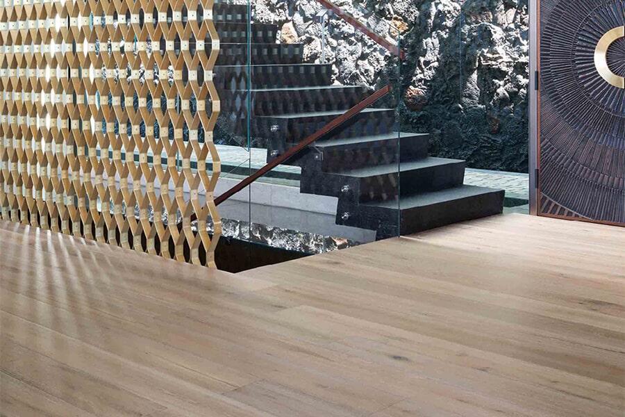 Contemporary wood flooring in Folsom, CA from Central Valley Floor Design