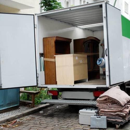 Caminhão para mudança residencial