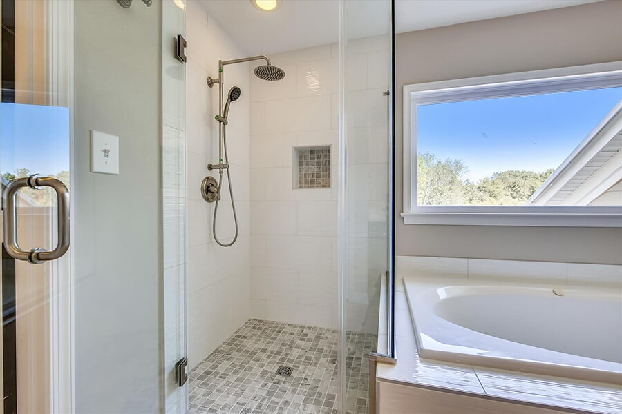 Shower remodel in Ellicott City, MD from FLOORMAX