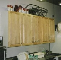in built cabinet