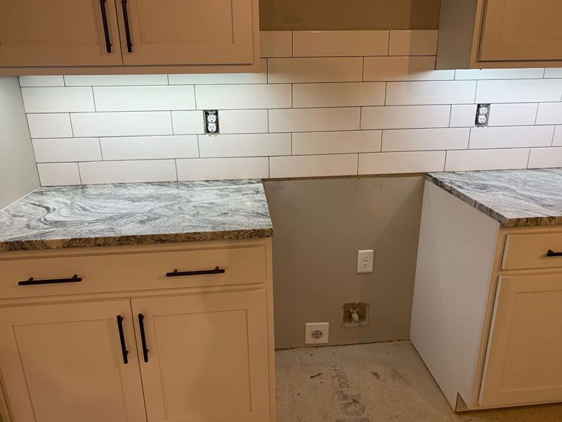 Tile backsplash in Ankeny, IA from Floors 4 Iowa