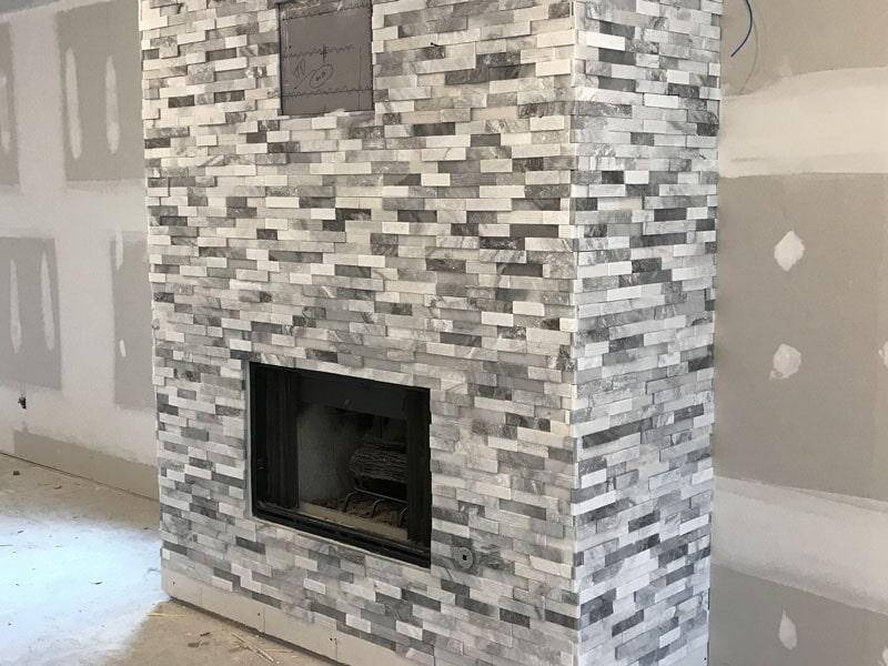 Stone tile in Johnston, IA from Floors 4 Iowa