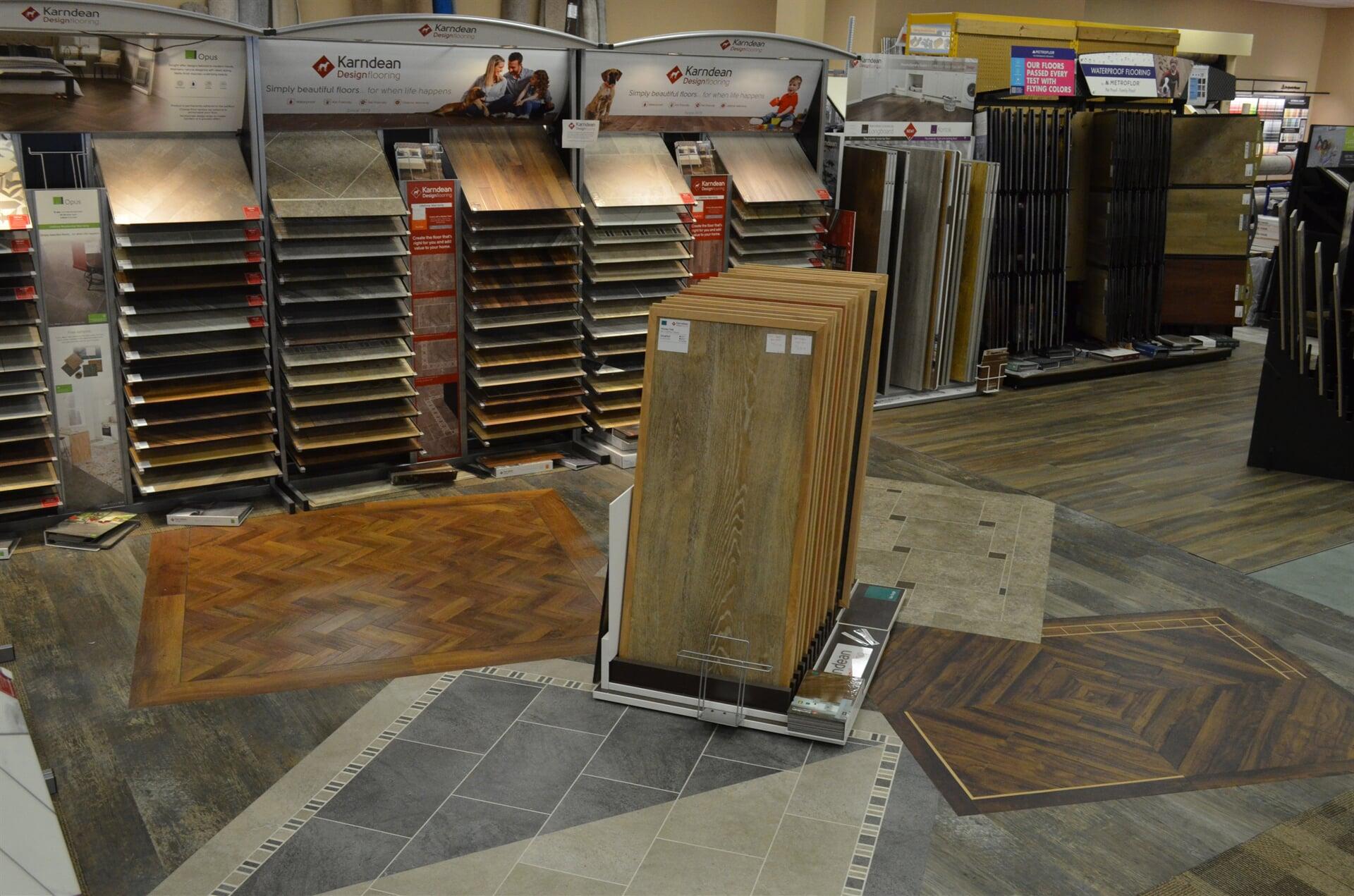 Luxury vinyl tile in Gordon, NE from Morford's Decorating Center