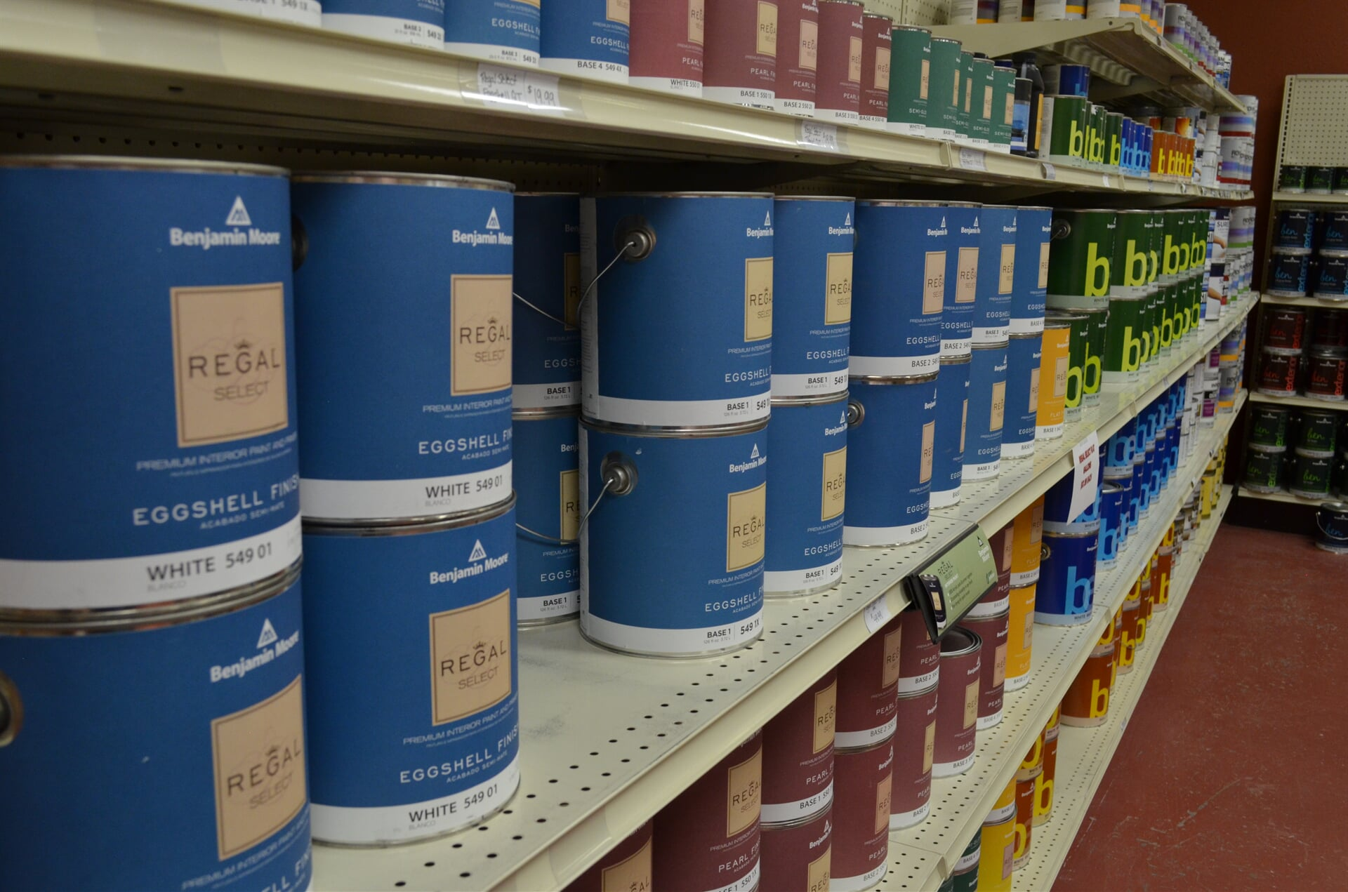 Benjamin Moore Paint in Rushville, NE from Morford's Decorating Center