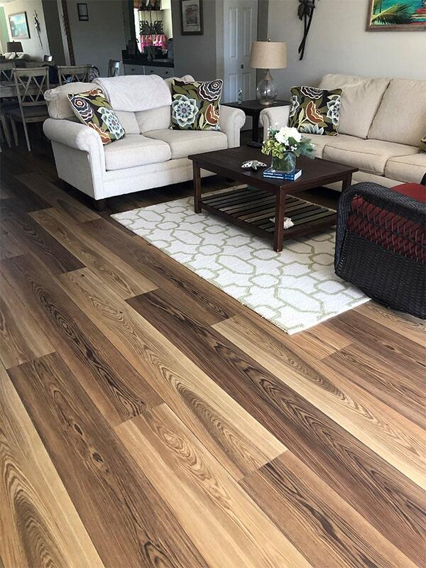 Just installed Karastan's Refined Forest in Cedar for Carol & Jerry N in Boca Raton, FL