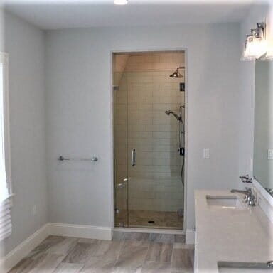 Bathroom remodel in Brockton, MA from Paramount Rug Company