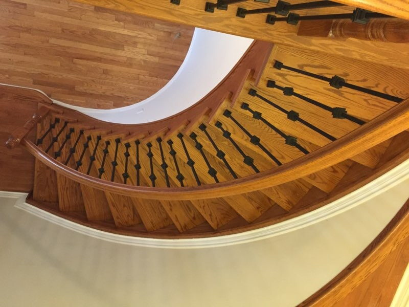Staircase in Orleans, ON from Advantage Flooring