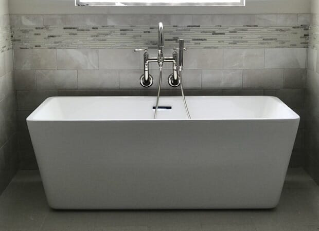 Modern tub in Baton Rouge, LA from Marchand's Interior & Hardware