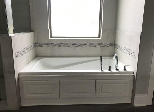 Bathroom tub installation in Donaldsonville, LA from Marchand's Interior & Hardware