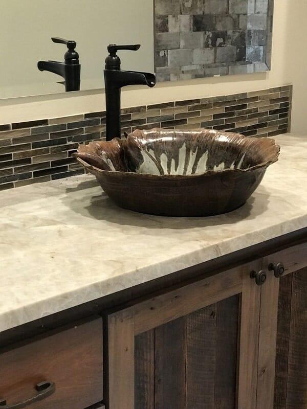 Custom bathroom design in Prairieville, LA from Marchand's Interior & Hardware