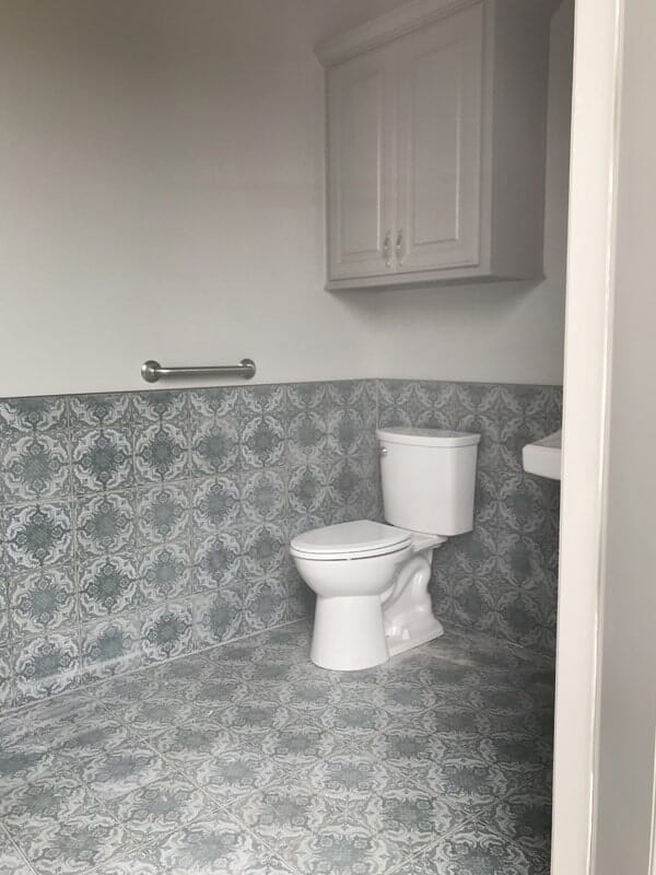 Bathroom floor and wall tile in Ascension Parish, LA from Marchand's Interior & Hardware