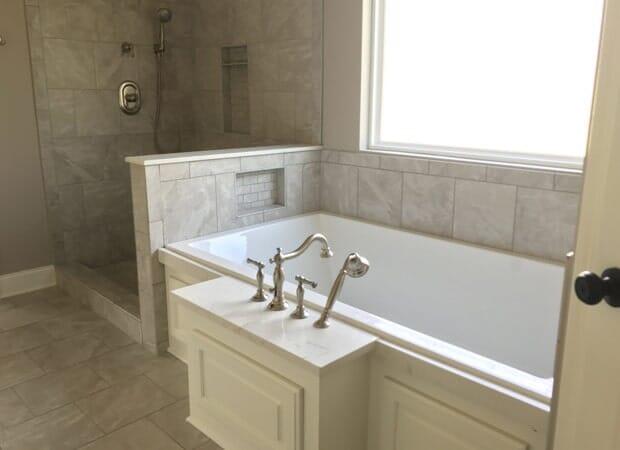Luxury bath installation in Baton Rouge, LA from Marchand's Interior & Hardware