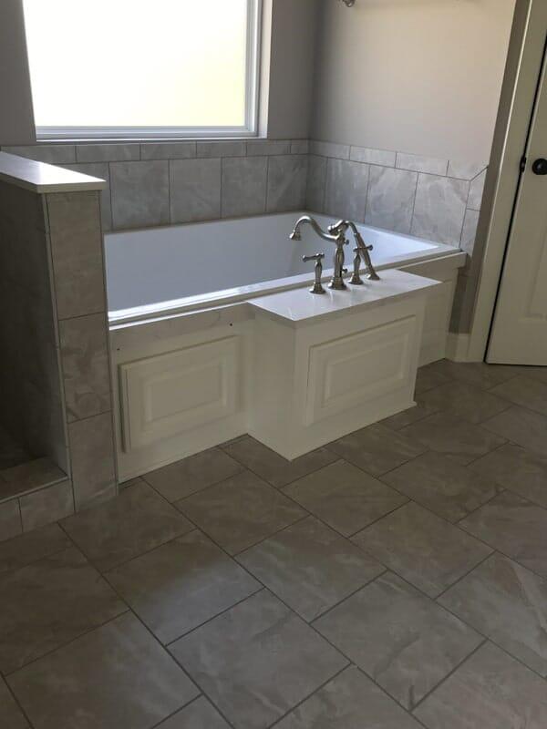 Tile tub surround in Prairieville, LA from Marchand's Interior & Hardware