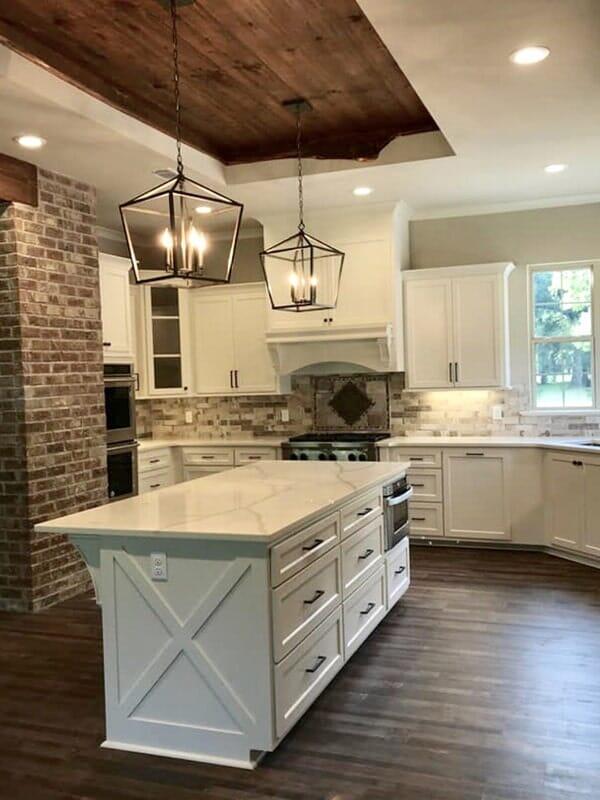 Beautiful kitchen in Ascension Parish, LA from Marchand's Interior & Hardware