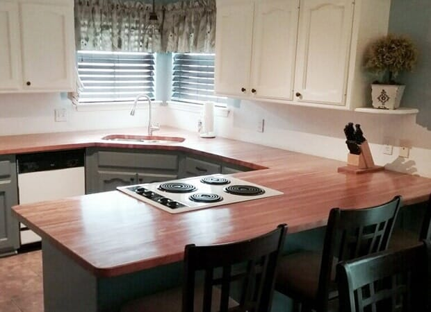 Classic kitchen design in Gonzales, LA from Marchand's Interior & Hardware
