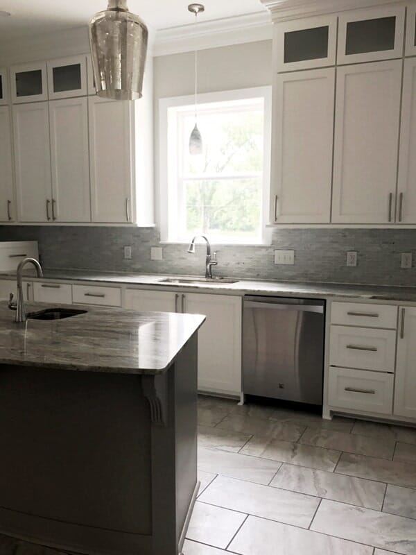 New kitchen remodel in Donaldsonville, LA from Marchand's Interior & Hardware