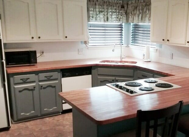 Wood countertops in Prairieville, LA from Marchand's Interior & Hardware